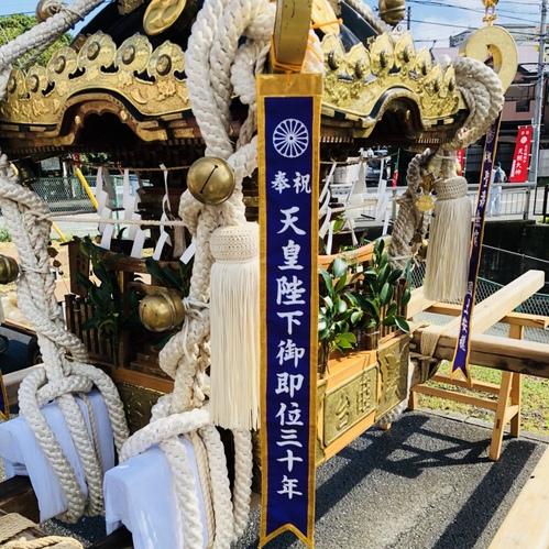 7月29日 兼務社の長沢総鎮守 天照大神の例祭が行われました。