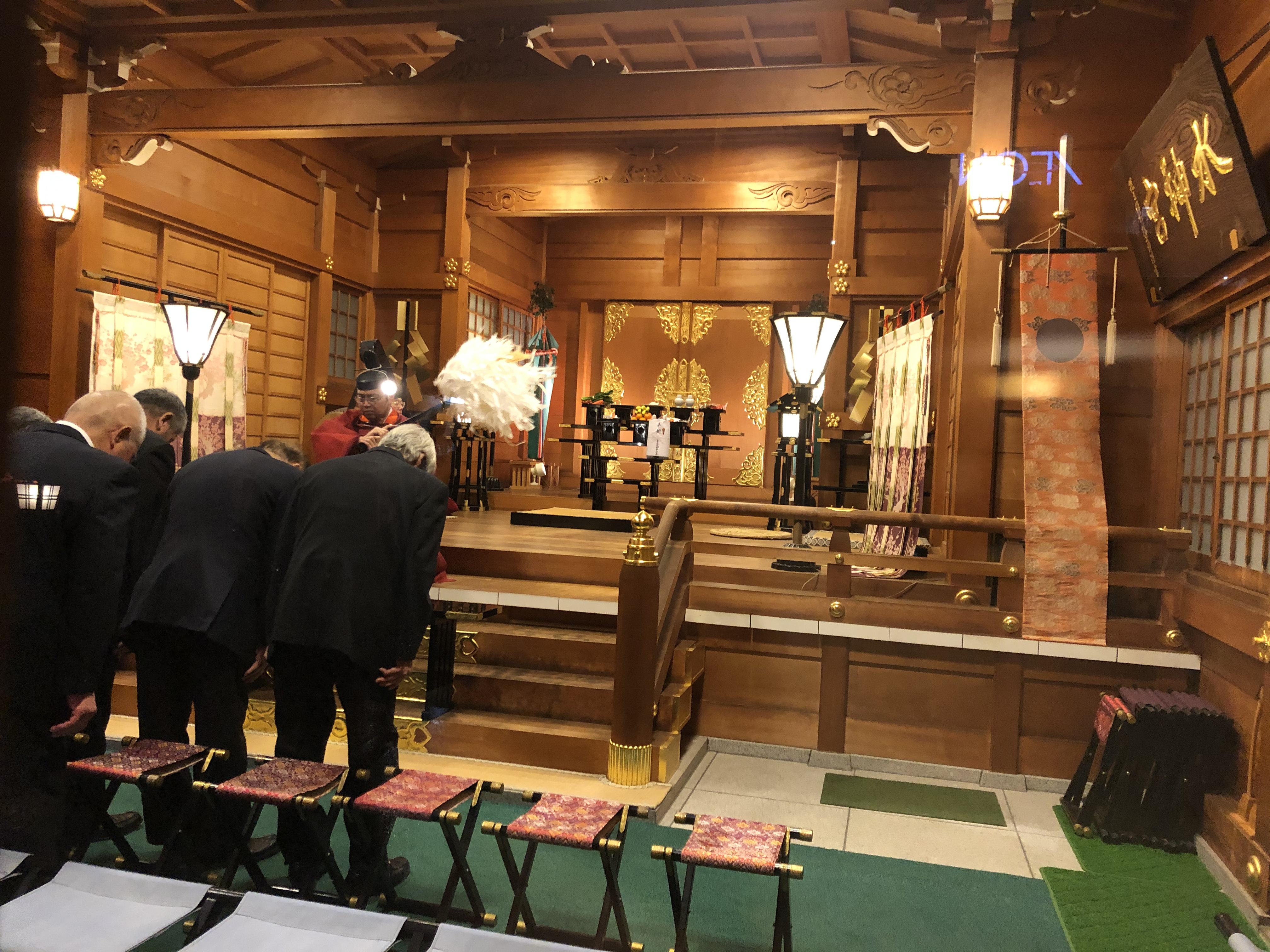 2月22日(土) 祈年祭と初午祭をとり行いました。